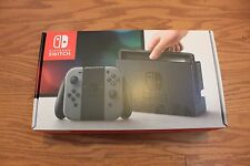 Brand New Sealed Nintendo Switch Gaming Console with Gray Joy-Con