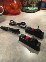 2 Vintage Lionel 022 Switch Controllers, Checked, Cleaned & Rewired