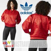 Adidas Originals BOMBER RED TRACK JACKET TREFOIL Womens Rita Ora AY6733 UK 14 6