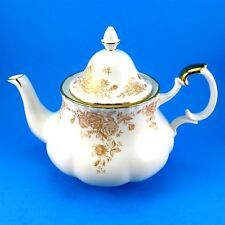 Royal Albert Old Country Roses Gold Large Teapot