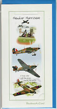 RAF Hawker Hurricane Gift card with detachable bookmark  avation greeting card