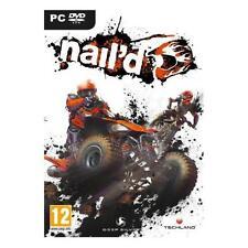 NAIL'D GIOCO PC DVD - QUAD, MOTO, STUNTS, FUORI STRADA - NUOVO SIGILLATO