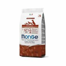 Alimenti Monge agnello per cani