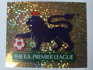 Merlin Premier League 1997 Football Sticker 1 The FA Premier League Logo Foil