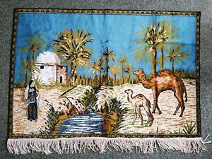 bedouin camel scene wall hanging tapestry Art