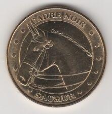 -- 2011 COIN MEDAILLE JETON MONNAIE DE PARIS-- 49 400 CADRE NOIR SAUMUR CHEVAL