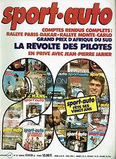 SPORT AUTO 241 1982 GP AFRIQUE DU SUD PARIS DAKAR RALLYE MONTE CARLO FIAT 127 SP