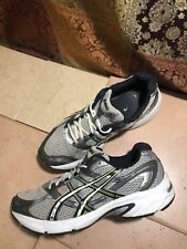 Asics Gel-Equation 4 Mens Size 10.5 US T0F3N Silver Grey Green Running Sneakers