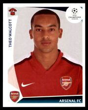 Panini Champions League 2009-2010 Theo Walcott Arsenal FC No. 497