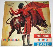 PHILIPPINE BRASS BAND Paso Dobles Volume 4 OPM LP Record