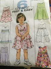 Butterick Toddler Sewing Patterns