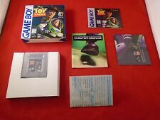Disney's Toy Story (Nintendo Game Boy 1996) COMPLETE w/ Box manual POSTER game
