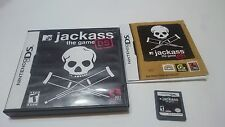 JACKASS THE GAME MTV NINTENDO DS DSI XL 2DS 3DS USA INGLÉS.