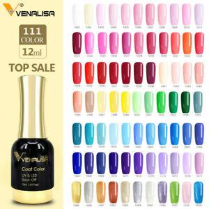 Schellack Gelnagellack 12ml UV-LED Gelpolitur Nagellack 12ml Soak off 14 Farben
