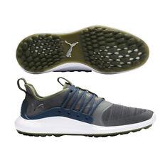 PUMA IGNITE NXT SOLELACE SL Golf Shoes - Shade/Silver/Denim