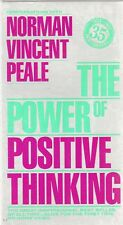 THE POWER OF POSITIVE THINKING -VHS - NTSC-N&S-Never played-Original USA release