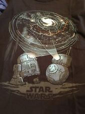 "FUNKO POP STAR WARS SMUGGLER'S BOUNTY ""DROIDS"" TEE T-SHIRT XL NEW  R2-D2 BB-8"
