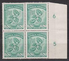 Indonesia 118 sheet rand MNH PF 1953 Moederdag : NU VEEL MEER INDONESIE