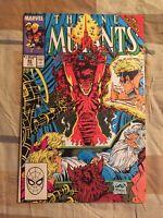 New Mutants #85 Liefeld McFarlane Cover [Marvel Comics, 1990]