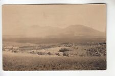 Bicknell Real Photo Postcard Mount Bigelow from Eustis Ridge Stratton ME