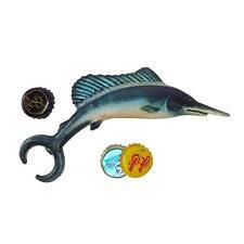 New MARLIN FISH CAST IRON BOTTLE OPENER DESIGN TOSCANO Bar Accessories Pub