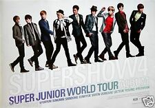 """SUPER JUNIOR """"SUPERSHOW4 - WORLD TOUR"""" THAILAND PROMO POSTER - Group In A Line"""