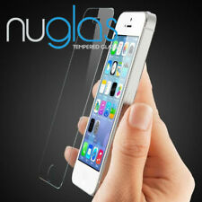 2x NUGLAS PREMIUM Screen Protector for iPhone X 8 7 6S 6 Plus 5S 5C 5 SE 4S 4