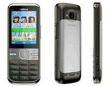 Unlocked Original Nokia C5-00 Smartphone MP3 Gray