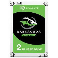 "2TB Seagate Barracuda Serial ATA III 3.5"" 7200RPM 256MB Cache Internal HardDrive"