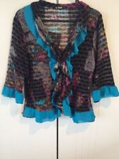Women's Polyester Multi-Colored Jumpers & Cardigans