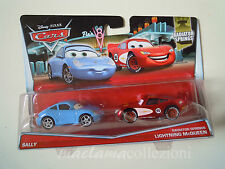 CARS Disney pixar cars SALLY + radiator springs SAETTA 2015 RARO 1/55 mattel