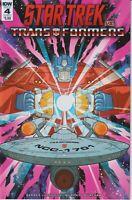 IDW 4  December 2018 Cover A Star Trek vs. Transformers (Comic)