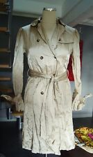 trench imperméable tissu froissé BURBERRY taille 36/38