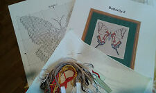 BUTTERFLY 2 IS A SMALL 14ct cross stitch kits ideal 4 card making and beginners