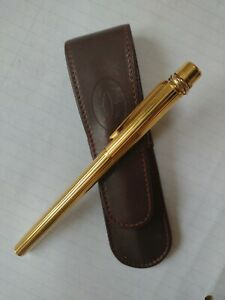 CARTIER CLASSIC BURGUNDY BEST QUALITY ALL LEATHER PEN POUCH - OFFERS