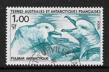 TAAF FRENCH ANTARCTIC 1986 SOUTHERN FULMARS BIRD 1v USED