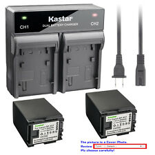 Kastar Battery Rapid Charger for Canon BP-827 CG-800 & Canon HF G20 Camcorder
