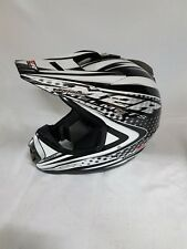 M2R x2.5 MX Helmet Silver X small Adult