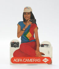 AGFA SIGN FOR ISOLY 500 AND AGFAMATIC POCKET 508, FROM INDIA/cks/200299