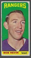 1964-65 Topps New York Rangers Hockey Card #77 Bob Nevin