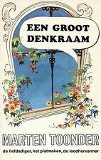 Een groot denkraam / druk 7 von Toonder, Marten | Buch | Zustand sehr gut