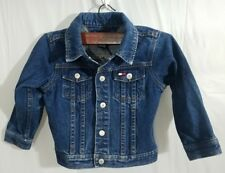 Vintage Tommy Hilfiger Denim Jean Jacket Toddler 2T Trendy Logo Emblem