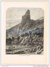 Pico Aiguille, Universidad, Francia, Libro Ilustración, 1880