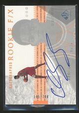 2002 SP Authentic EDDY CURRY auto RC autograph rookie /700 Bulls
