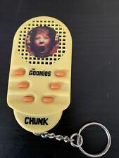 "The Goonies Keychain ""Chunk"" Talking Keychain! Hard To Find Item."