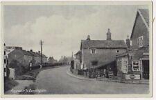 Approach to Dennington Suffolk Postcard, B696