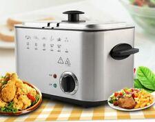 Electric Frying Machine Multifunctional Household Smokeless Deep Fryers 1200W