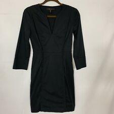 BCBG MAXAZRIA Women's Black Shift Dress Size 2