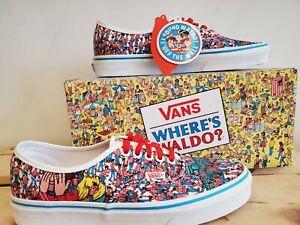 Vans Authentic Where's Waldo x Vans Limited Edition Shoes for Men