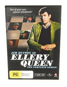 Ellery Queen Complete Series (DVD, 7-Disc Set) Jim Hutton Region 4 Free Postage